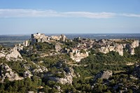 baux de provence village alpilles France europe
